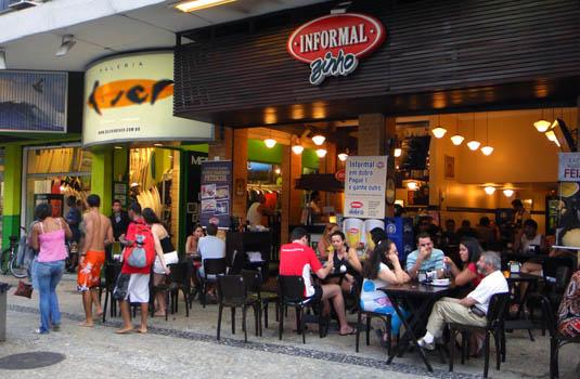 Informalzinho bar and restaurant in Rio de Janeiro Brazil