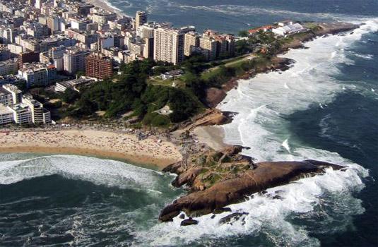 Rio de Janeiro coastline