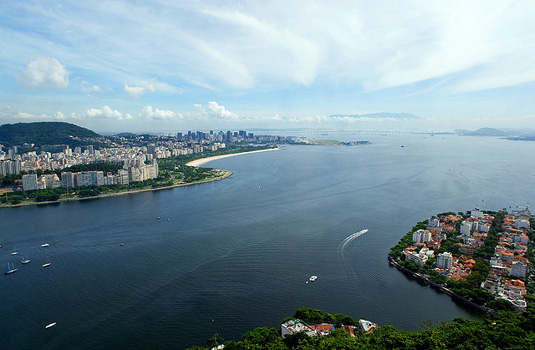 View From Urca in Rio
