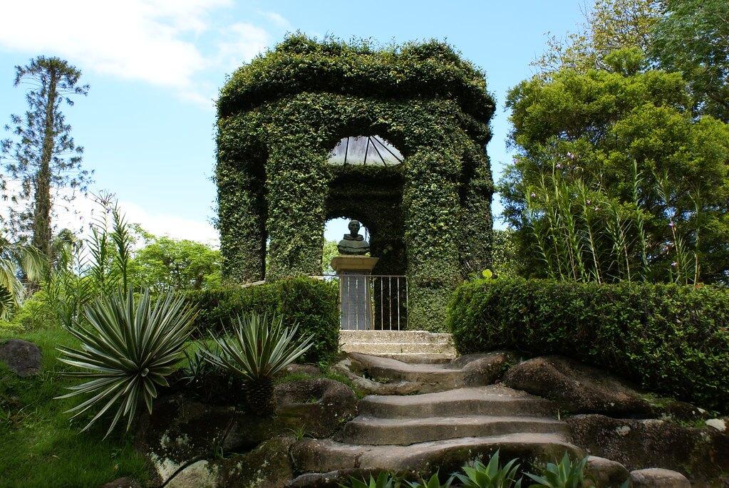 Jardim Botanico is a famous garden in Rio de Janeiro