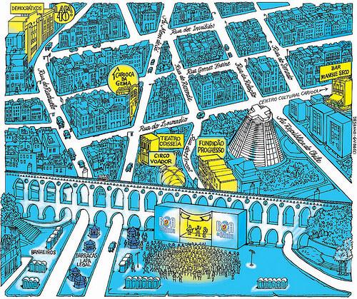 Lapa Map