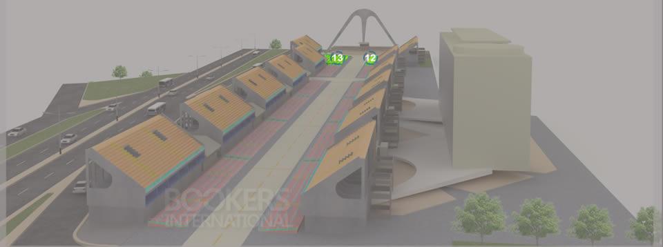 Mapa del Sambódromo 3D - Butacas Numeradas