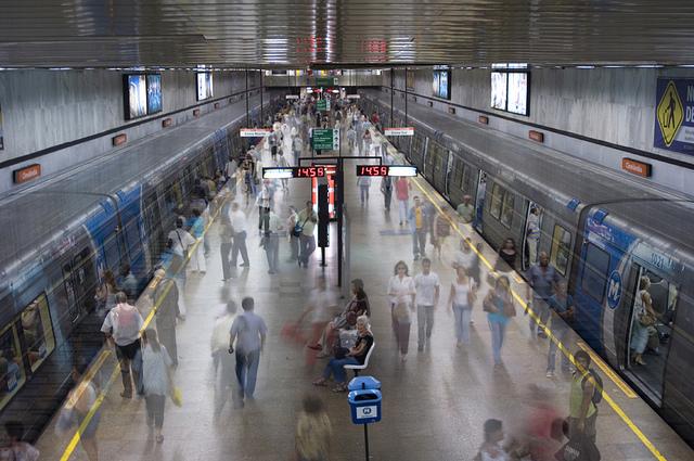 Rio Subway - Cinelandia Station
