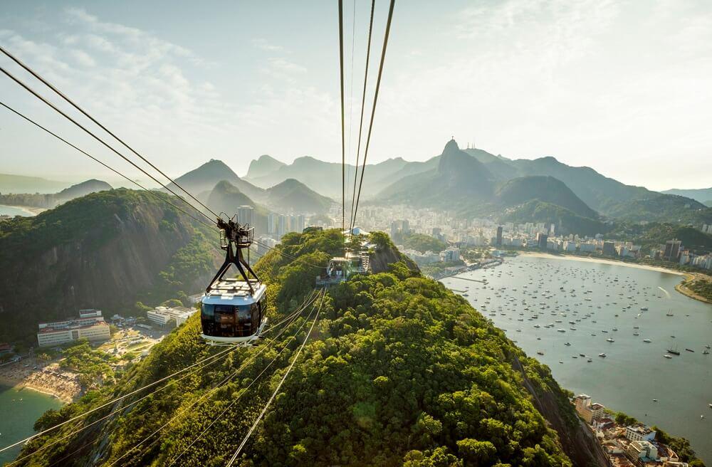 Pan de Azucar en Rio de Janeiro - Brasil