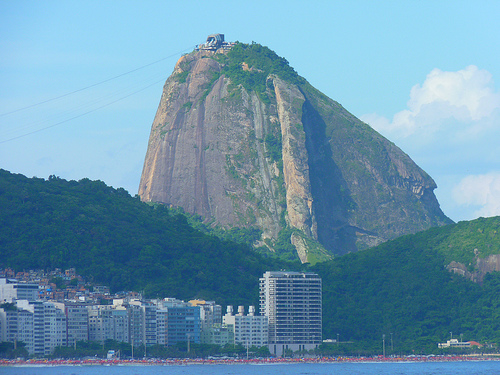 Sugar Loaf - view from Copacabana Fort