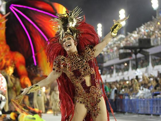 Rio Carnival parade