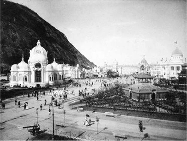 Old photo of Urca neighborhood