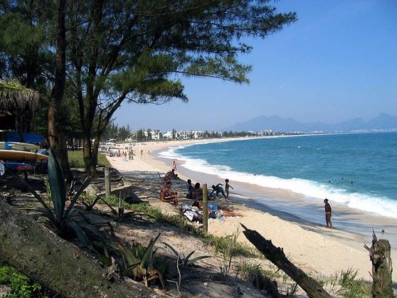 Recreio dos Bandeirantes Beach in Rio de Janeiro