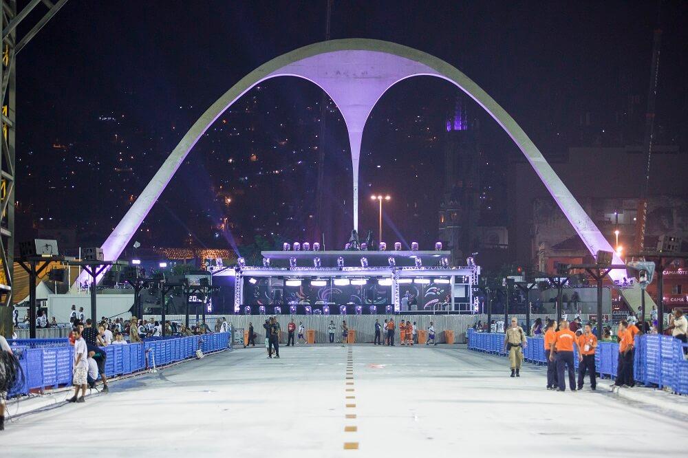 Plaza Apoteose en el Sambódromo