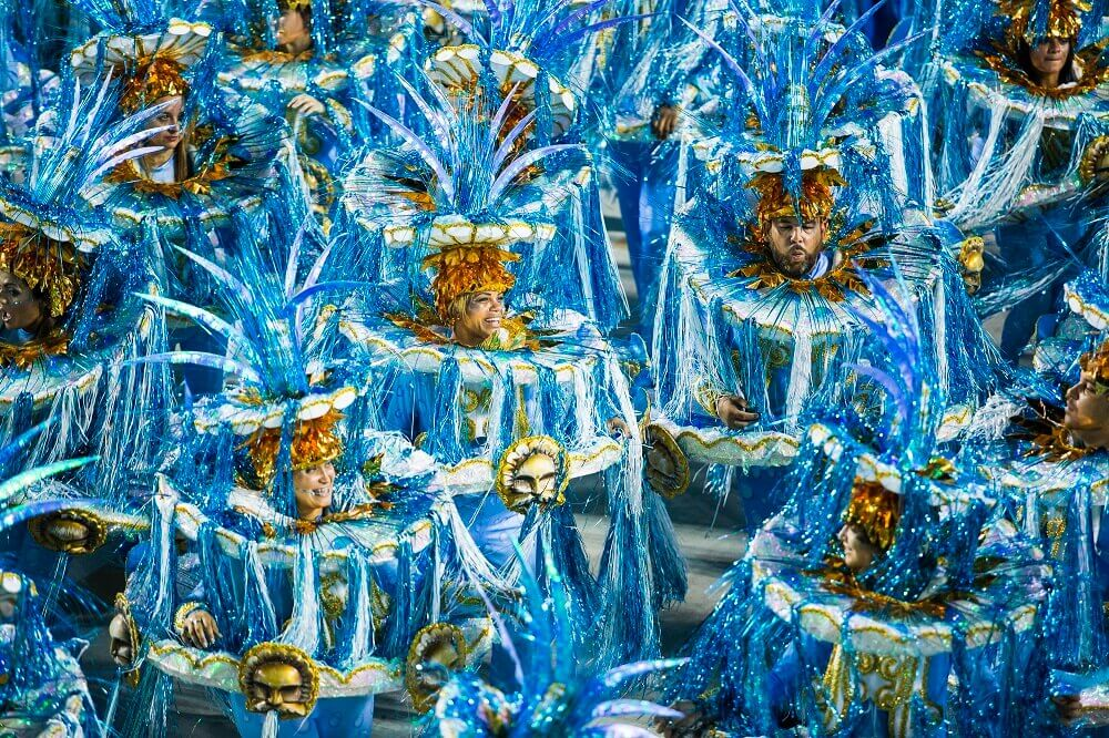 Costumes at the Rio Carnival