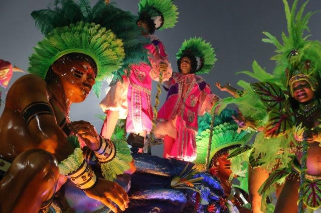 Queen of the Drummers and the Bateria - Rio Carnival