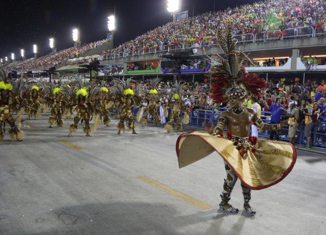 Samba schools Choreography - Rio carnival