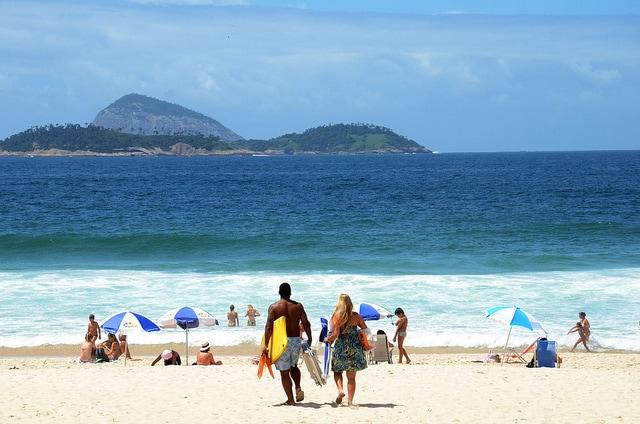 Beaches in Rio de Janeiro, Brazil