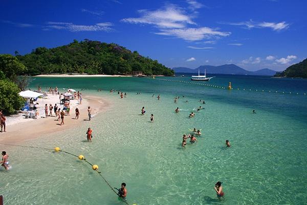 Paradisiacal Beaches in Rio de Janeiro, Brazil