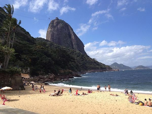 Mountains and Beaches in Rio de Janeiro, Brazil