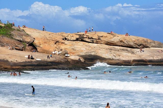 Surf and Beaches in Rio de Janeiro, Brazil