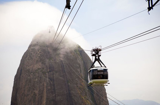 Sugar Loaf in Rio de Janeiro Brazil