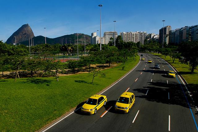 Rio taxis Aterro do Flamengo