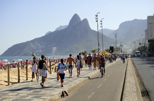 "Sunday in Ipanema Rio de Janeiro"" alt=""Weekends in Ipanema Rio de Janeiro"