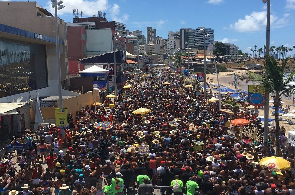 Street Parties during Salvador's Carnival