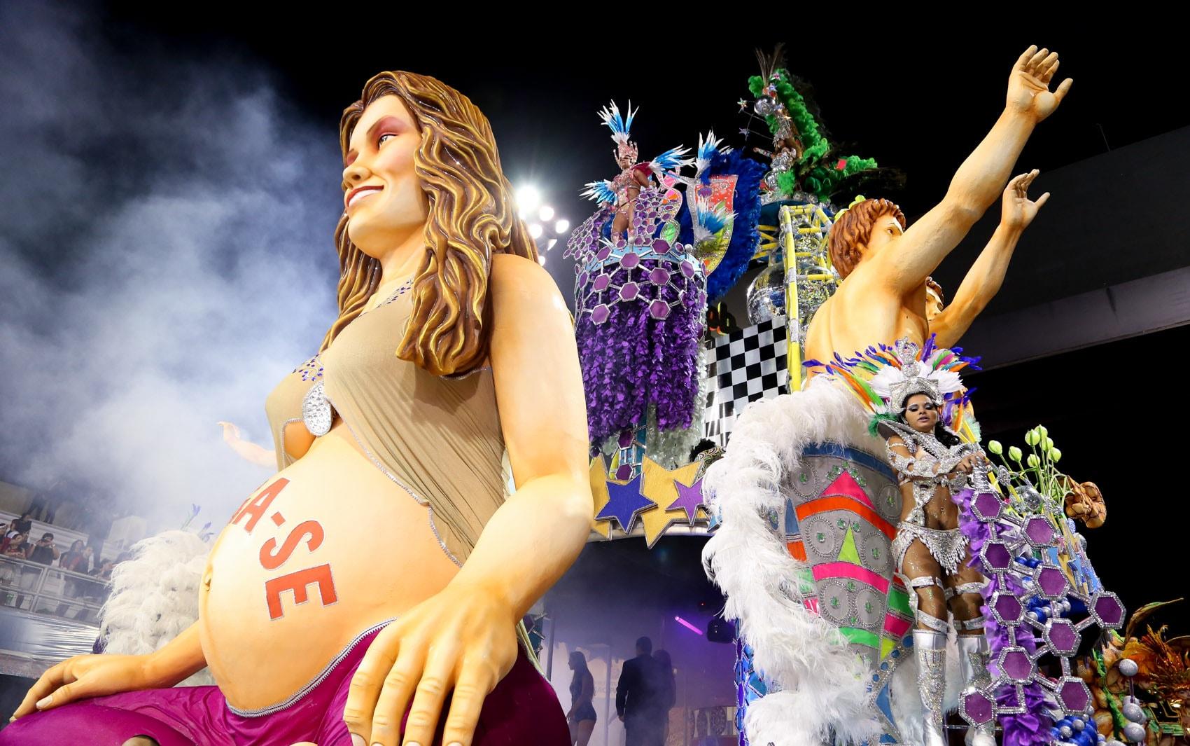 Sao Paulo Carnival Celebrations