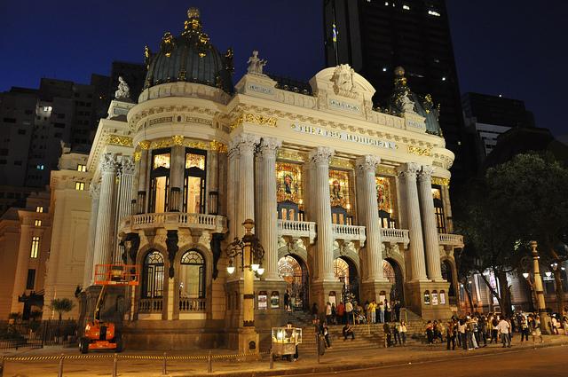 Municipal Theater - Downtown - Rio de Janeiro