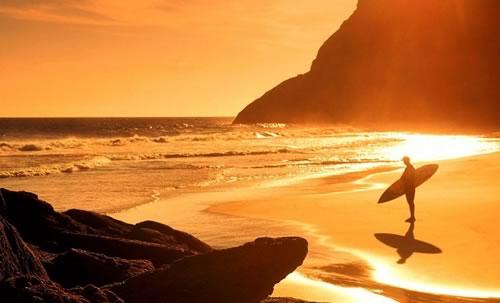 Sunset Surfer - Rio de Janeiro