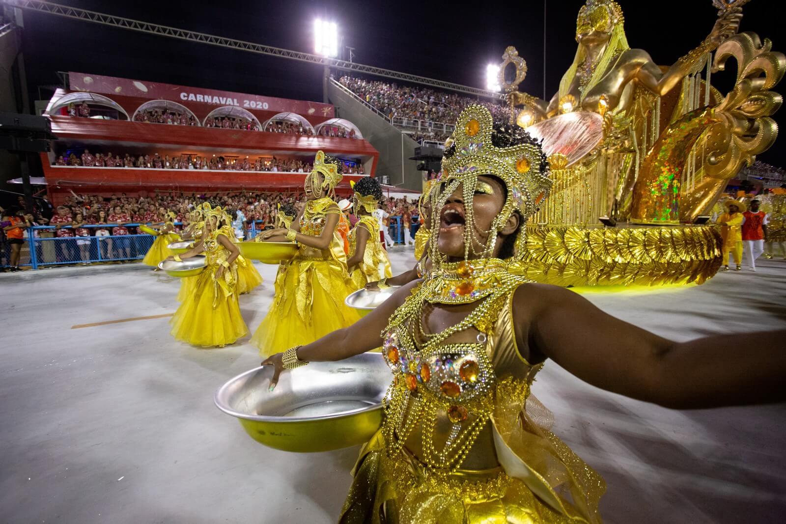 Comissão de frente da campeã do carnaval do Rio