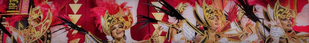 Detalles sobre los Desfiles del Carnaval de Rio de Janeiro.